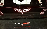C6 Corvette Base/Grand Sport/Z06/ZR1 2005-2013 WindRestrictor® Glow Plate - For Coupes & Hardtops