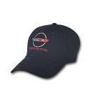 C4 Corvette 1984-1996 Late Model Embroidered Cap - Black