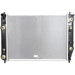 C6 Corvette 2005-2013 LS2 LS3 GM Replacement Radiators - With & Without Oil Cooler