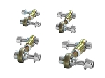 C5 C6 C7 Corvette 1997-2014+ PFADT Series Heavy Duty Street End Links