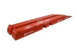 Race Ramps 16in Restyler Magna Long Ramp - Red