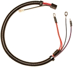 C3 Corvette 1977-1978L Engine/Starter Solenoid Extension Wiring Harness With Alarm In Door & Without Air Conditioning - Show Quality