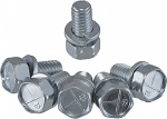 C2 C3 Corvette 1963-1982 Engine Mount Bolt Set- 6 Piece