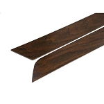 C3 Corvette 1970-1977 Door Panel Inserts - Walnut, Teak & Black Options