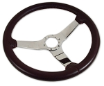 C3 Corvette 1977-1982 Color Matched Steering Wheels w/ Chrome Spokes