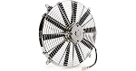 C2 C3 Corvette 1963-1982 Be Cool Chrome / Electric Puller Cooling Fan