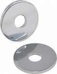 C3 Corvette 1968-1982 Chrome Door Striker Washers - Pair