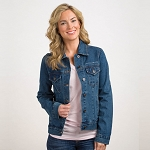 C7 Corvette 2014+ Ladies Corvette Script Denim Jacket