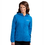 C7 Corvette 2014+ Ladies Corvette Script Rain Jacket