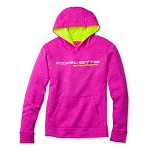 C7 Corvette Stingray 2014+ Ladies Pretty in Pink Sweatshirt