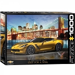 C7 Corvette Z06 2015-2019 Out For a Spin 1000 Piece Puzzle