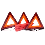 C2 C3 C4 C5 C6 C7 Corvette 1963-2014+ Emergency Reflective Warning Triangle - 3Pc