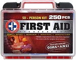 On-The-Go First Aid Kit - 250 Pieces