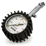 Premium Tire Pressure Gauge With Integrated Hold Valve - 60PSI