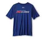 C7 Corvette Z06 2014-2019 Under Armour T-Shirt - Royal Blue - Medium
