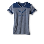 C7 Corvette 2014+ Ladies Vintage Jersey T-Shirt