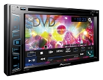 Pioneer In-Dash DVD Receiver w/ 6.2 Inch Display & Bluetooth
