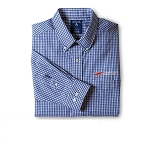 C7 Corvette Z06 2015-2019 Associate Dress Shirt - Blue/White