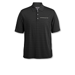 C7 Corvette Stingray / Z06 / Grand Sport 2014+ Tonal Stripe Polo - Black