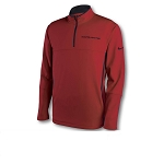 C7 Corvette 2014+ Nike Therma-Fit Pullover - Crimson Red / Black