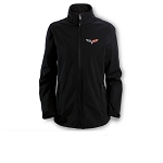 C6 Corvette 2005-2013 Ladies Softshell Jacket w/ Full Color Logo