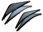 C7 Corvette Stingray / Z06 / Grand Sport 2014+ Carbon Fiber XIK Canards