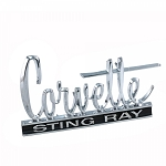 C2 Corvette Stingray 1966-1967 Front / Rear Emblem