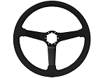 C2 C3 Corvette 1963-1982 Leather Steering Wheels w/ Black Spokes