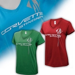 C7 Corvette Stingray 2014+ Ladies Logo Tee - 3 Color Options