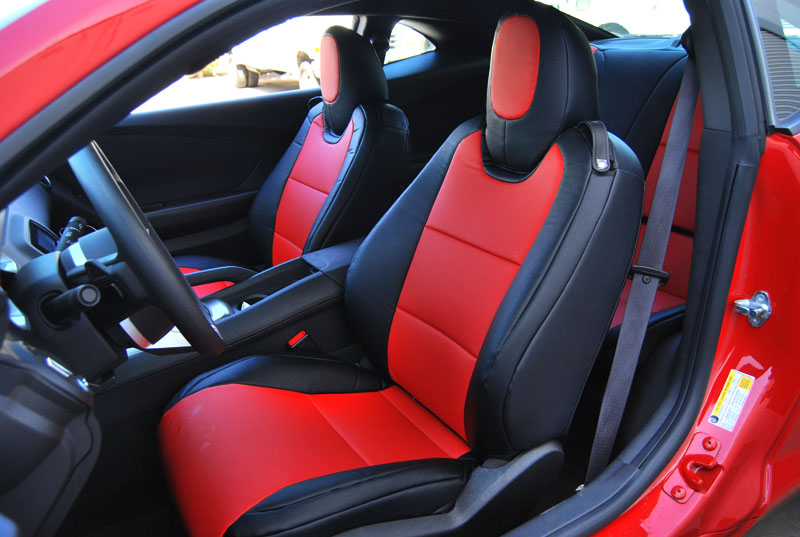 C6 Corvette 2005 2011 Synthetic Leather Or Faux Suede Seat Covers Multiple Color Selections