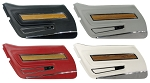 C3 Corvette 1970-1977 Deluxe Door Panels w/ Walnut or Teak Insert