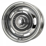 C3 Corvette 1968-1982 Replacement Rally Wheel Set