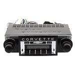 C3 Corvette 1968-1982 USA-630 Custom Auto Sound Radio