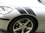 C6 Corvette 2005-2013 Grand Sport-Style Fender Accent Stripes