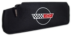 C4 Corvette 1984-1996 Embroidered Sun Visors