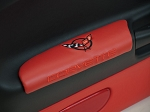 C5 Corvette 1997-2004 Embroidered Leather Door Armrests