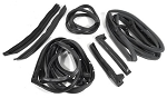 C3 Corvette 1968-1977 Body Weatherstrip Complete Kit - Coupe