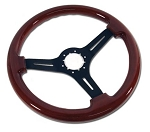 C3 Corvette 1968-1982 Mahogany Steering Wheels - 3 Styles