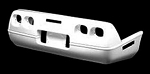 C4 Corvette 1984-1996 Flex-Fit Rear Bumper - Stock Design / Wide Molding Design