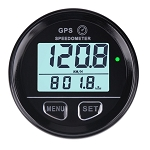 Digital GPS Speedometer w/ High Speed Recall w/ Programmable High / Low Speed Alarms