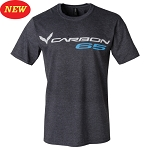 C7 Corvette 2014+ Carbon 65 T-Shirt - Dark Heather Grey