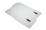 C2 Corvette 1963-1967 Lloyds Clear Protector Mats - 2pc Fronts