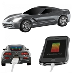 C7 Corvette 2014-2019 Power Bank w/ Flashlight - Multiple Color Options