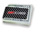 C7 Corvette Z06 2015-2019 Carbon Fiber Money Clip w/ Z06 Logo