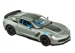 C7 Corvette Grand Sport 2017 Die Cast Model - Gray - 1:24 Scale