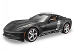 C7 Corvette Stingray 2014-2019 Police Die Cast Model - 1:18 Scale