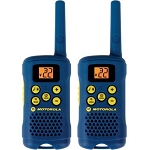 Motorola 16-Mile Range 2-Way Radios w/ 22 Channels - Pair