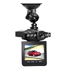2.5 Inch High Resolution LCD Dash Camera - 270 Degree Pivot Mount