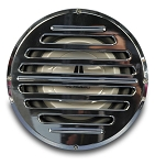 Billet Aluminum 10in Classic Style Sub Woofer Grill - Multiple Finishes Available