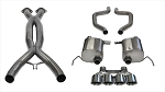 C7 Corvette Z06/Grand Sport 2015-2019 Corsa Performance Xtreme+ Cat-Back Exhaust System w/ Quad 4.5in Polished Tips